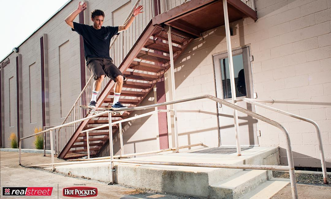 We're kickin' it with #RealStreet skater @ZackWallin!  Check him out on Snapchat