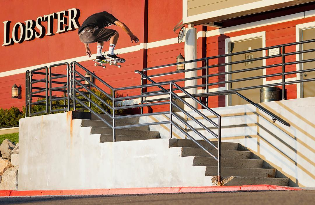 @ZackWallin went wild in his #RealStreet edit!  Click the link on our profile page to check it out. (