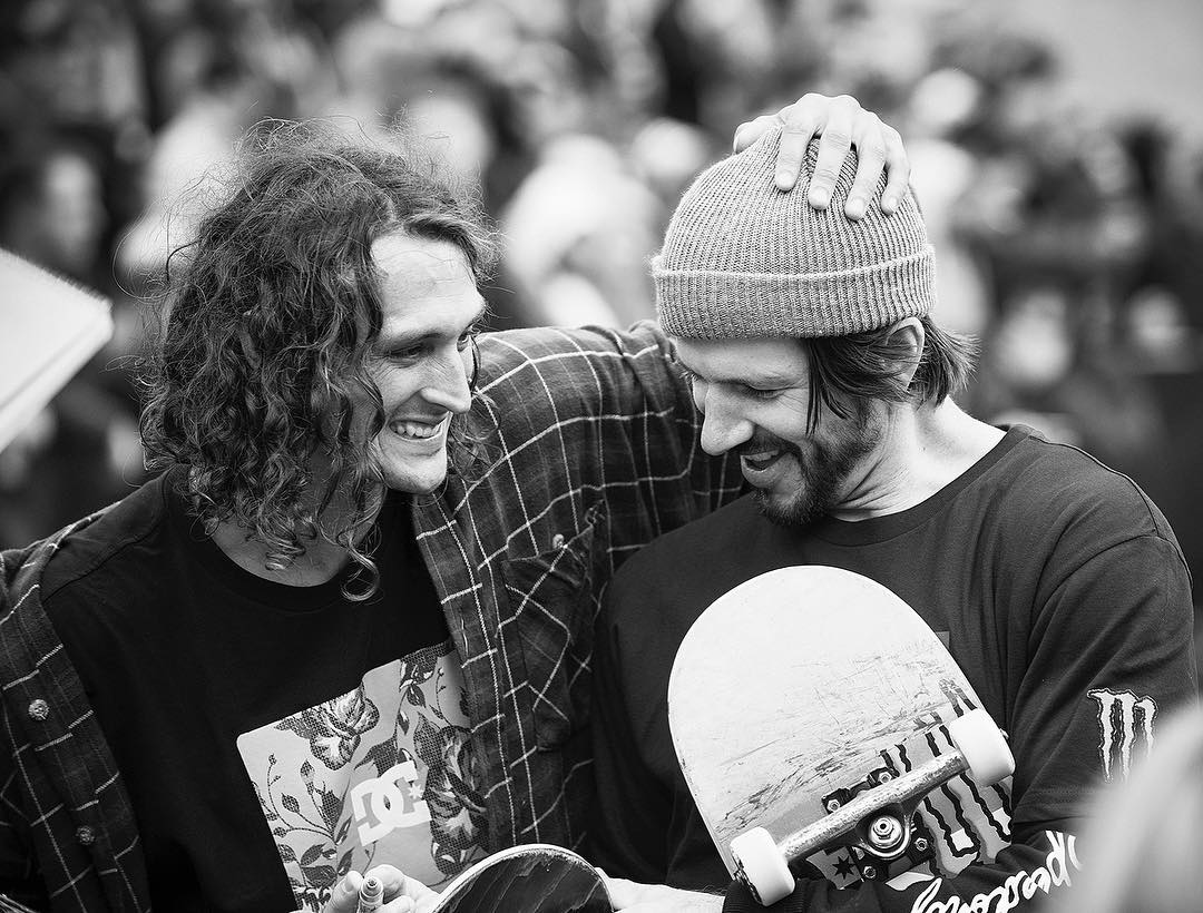 @starheadbody and @chriscobracole having a blast today in Detroit at the #RedBullHartLines contest. Photo: @blabacphoto #EvanSmith #ChrisCole #DCShoes