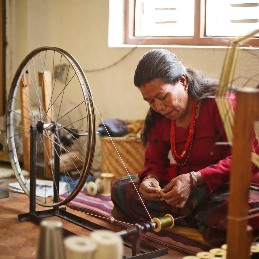 Handspun/Handwoven/Handmade in the Kathmandu Valley #nepal