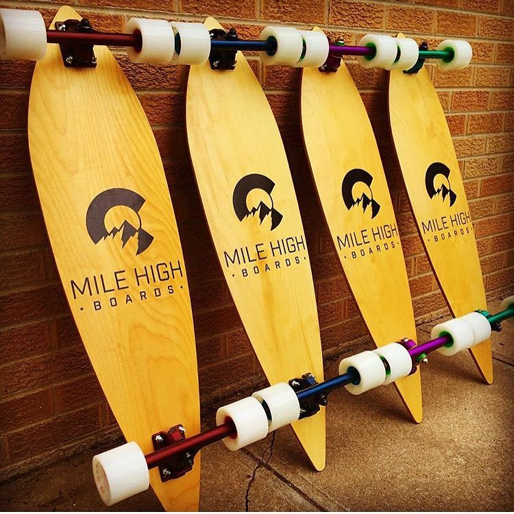 @milehighboards.co with some good looking truck options on their completes. #caliber50