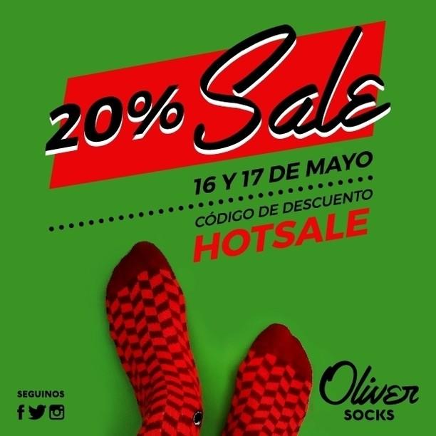 ¡Arrancamos el 20% #Sale en la web! Utilizá hoy el código HOTSALE al momento de finalizar tu compra y disfrutá el descuento.  Aprovechá la promo ingresando en ---> https://www.oliversocks.com . . #OliverSocks #Oliver #Medias #CreaTuPropiaHistoria...