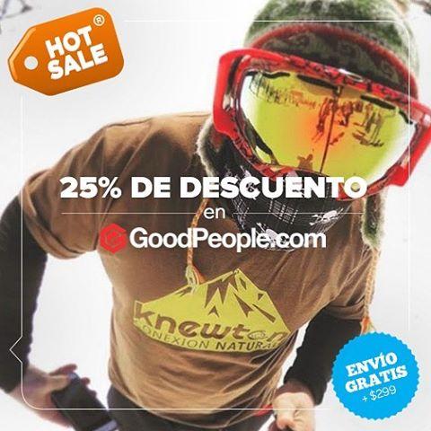 Hey People! Hoy Lunes 16 y Martes 17 de Mayo aprovecha el Hot Sale con descuentos zarpados!. Hacé click en http://bit.ly/1qig5BT y lleváte todo! #DaleGaaaaaas .:Conexión Natural:. #HotSale #WinterIsComing #Lifestyle #ConexióNatural #Knewton
