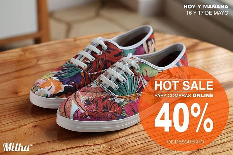 HOT SALE + ENVIO gratis! www.milha.com.ar #milha #hotsale #milhaAW16