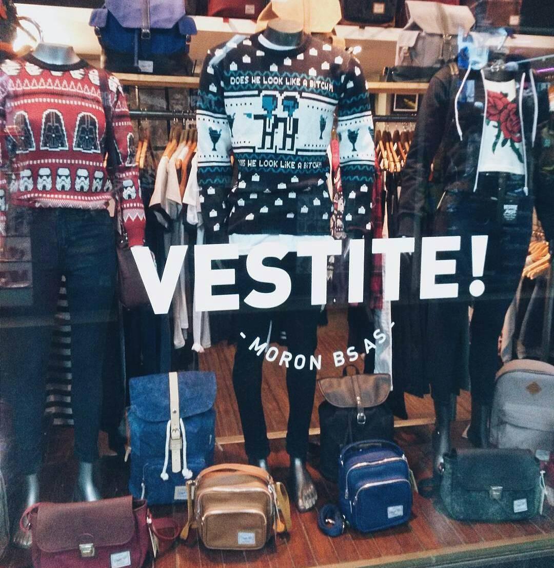 En Morón ya nos encontrás en Vestite Lopez! (