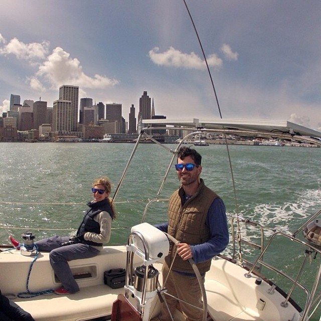 Many thanks to @chrisbtanner for the photo and a great day on the bay this weekend!
