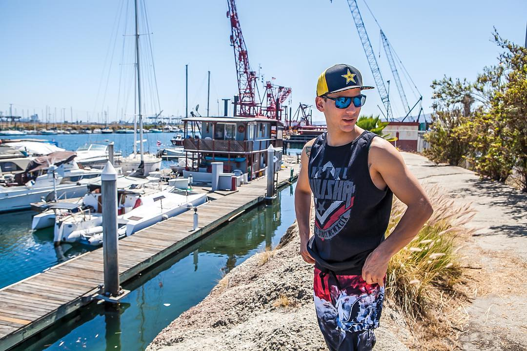 @RobAdelberg ⛵️ Blasted Boardshort ✔️ Hatch Tank ✔️ #MetalMulisha #Summer #WorldDomination