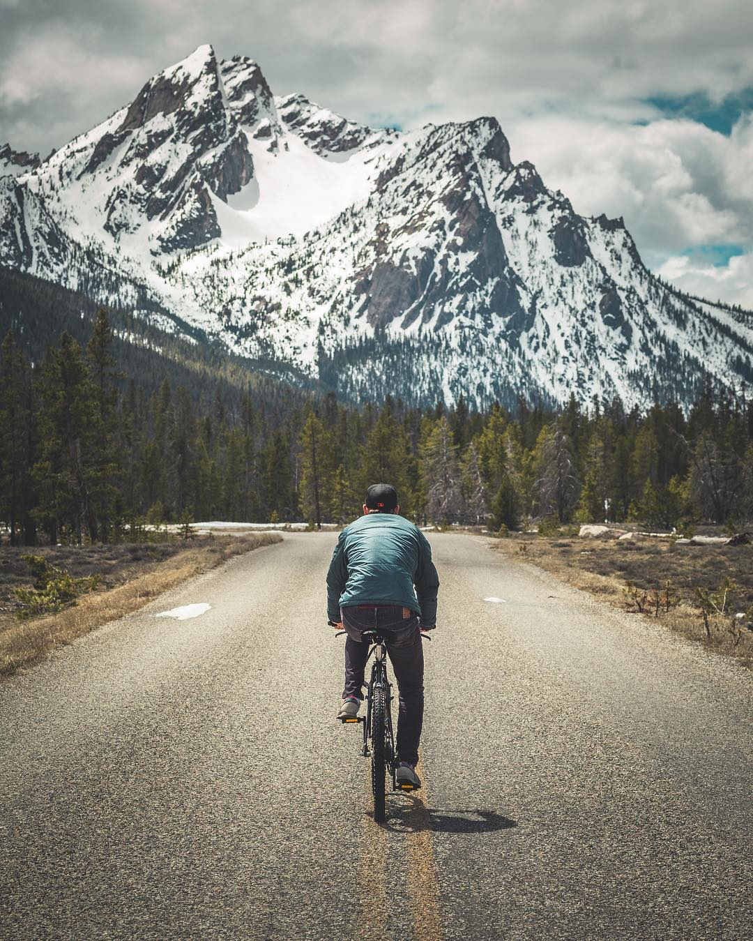 Riding into the work week like Photo from Proof Ambassador, @dustykleiner #NatureOfProof