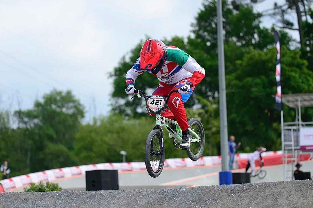 Congrats to @romainriccardi for his 2nd and first in Mens Elite at BMX French cup round 7 and 8 in Canejan ! Sure it feels good to be on the box... Stoked for you Romain ! #661Protection #SixSixOne Photo- Fabmx1 #ProtectFun
