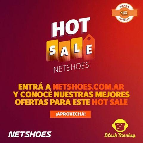 Entra y aprovecha los descuentos de Black Monkey en el Hot Sale de @netshoes_argentina