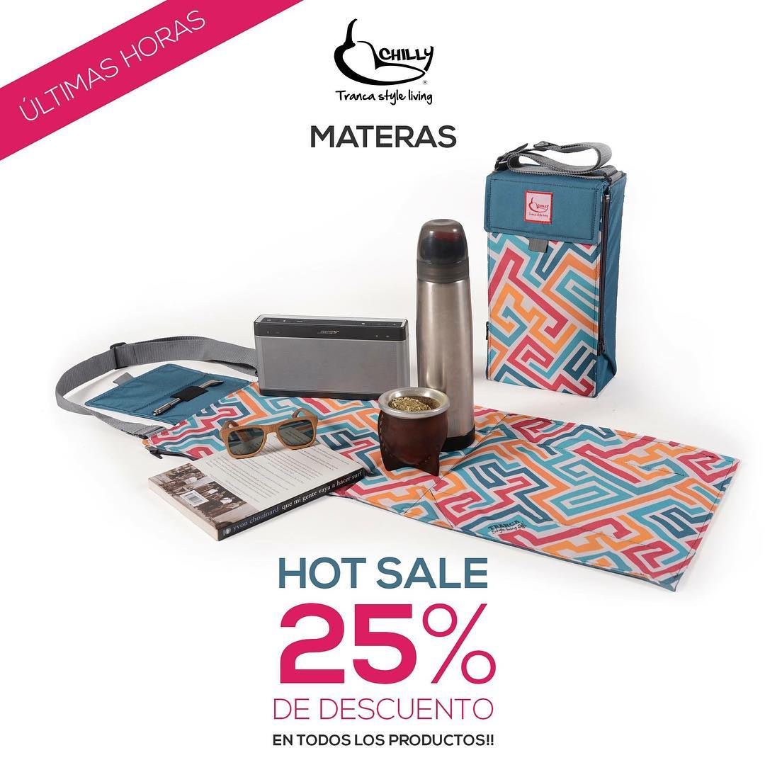 ULTIMAS HORAS del #HotSale 2016!! Comprá en nuestra tienda online con: 25% DE DESCUENTO en todos los productos #CHILLY Hasta 6 cuotas sin interés  ENVIO GRATIS para compras mayores a $1500!  Mirá todos los modelos de MATERAS Chilly en ►...