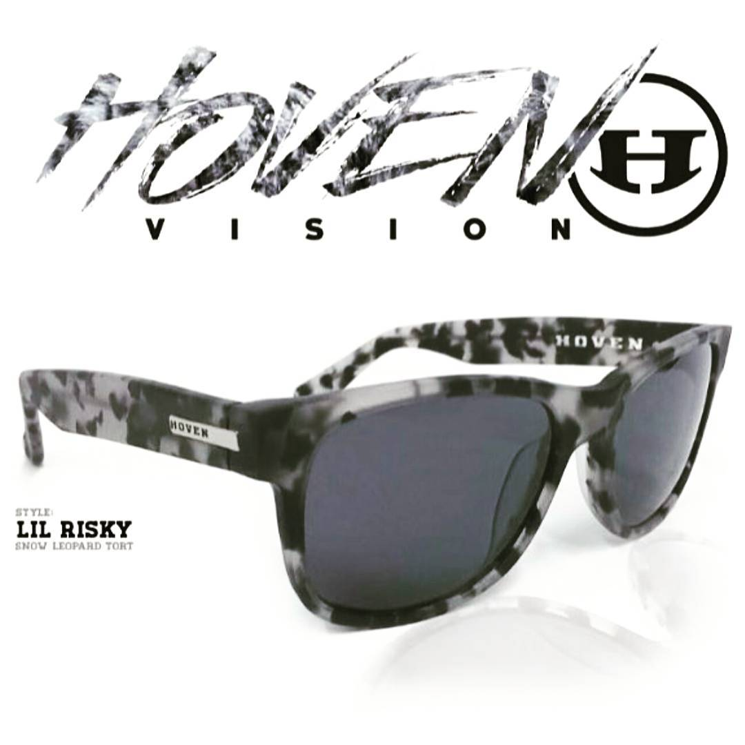 Are you feeling......a Lil Risky...Punk?? Well.... are ya??? Check these bad boys out folks, just came in this week. New colorway and style, Snow Leopard Tort Lil Risky. Available online at www.hovenistotatallybadass.com