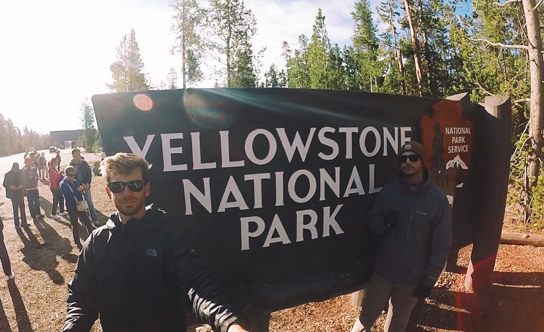 Here to whoop anyone's ass that tries to put a bison in their car. #yellowstone