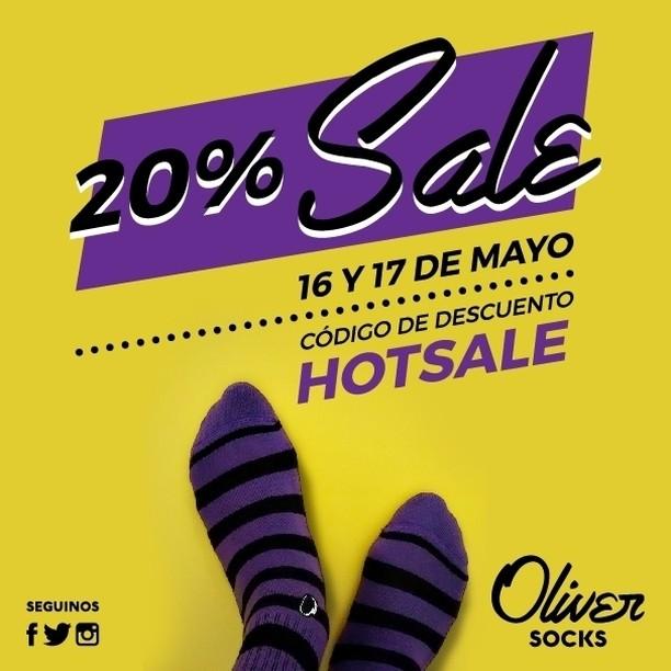 ¡Sigue el 20% #Sale en la web! Utilizá hoy el código HOTSALE al momento de finalizar tu compra y disfrutá el descuento.  Aprovechá la promo ingresando en ---> https://www.oliversocks.com . . #OliverSocks #Oliver #Medias #CreaTuPropiaHistoria #HotSale...
