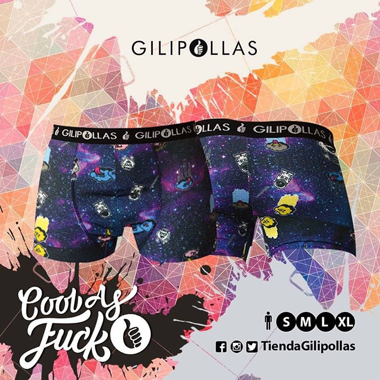 Es hora que cambies esos calzones rotos  Usá GILIPOLLAS ® #Underwear #CoolBoxer #Man #cloud #nubeloca #skateshop #style #top #coolasfuck #fuckingawesome #hotsale #salecaliente