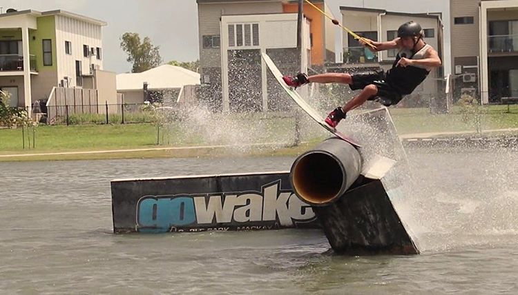 Need a board for cable and boat? Check out the Oracle in action from @jacobvinall's last edit #wakeboarding #linkinbio