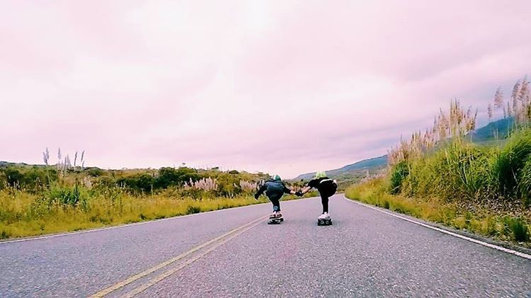 Go to longboardgirlscrew.com. to check our brand new @longboardgirlscrewarg Ambassadors @milichalub & @marfariasgervaldo ripping Copina, one of Argentina's most famous spots and where the #sheride takes every year. These two rad ladies are currently...