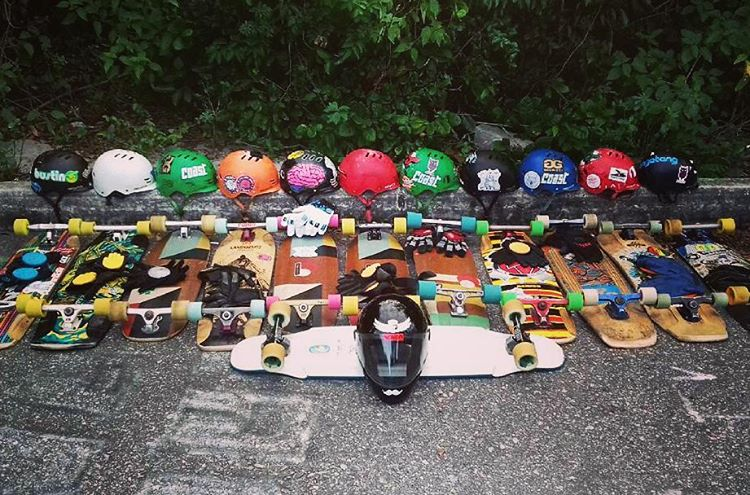 Homies from Rio de Janeiro know how to do it right. The crew rolling deep in Predator supplies! Much love guys