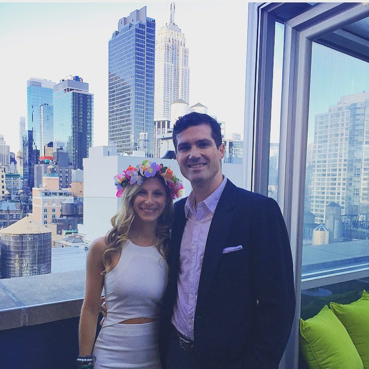 Hearts are full with all the love we felt this weekend. Thank you friends and family for coming to our Engagement Party and helping us celebrate! #engaged #NYC #engagementparty #love #mikeandrachthaitheknot