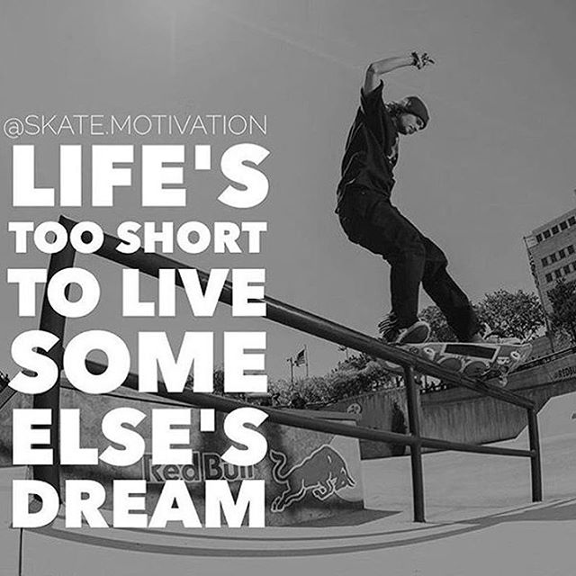 Know about our other account @skate.motivation -- the #1 skateboard motivation account? Check it out if you skate.