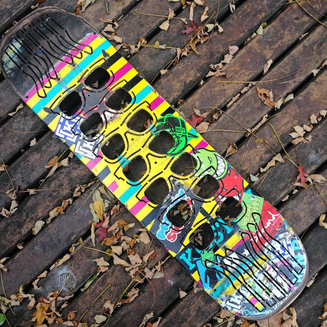 Gracias @agustin.estevanacio por esta tabla @girlskateboards