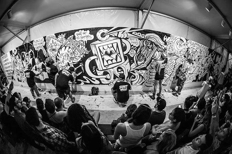 @SecretWalls will perform a live illustration battle on a 60-foot canvas at #XGames Austin!  It's goin' down June 2-5 at @COTA_Official.