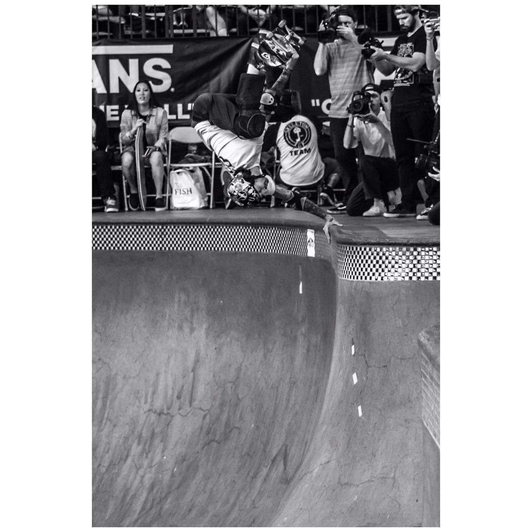 Big congrats to @navs5000 for winning the Masters Division at the Vans Pool Party last weekend .