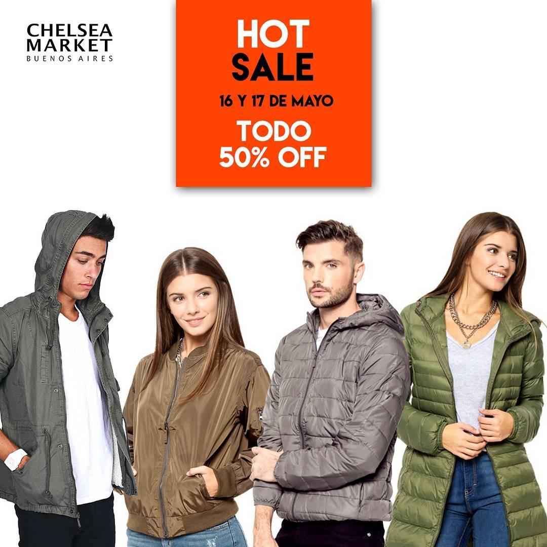 ¡Dos días para que explote el #hotsale en #chelseamarket!
