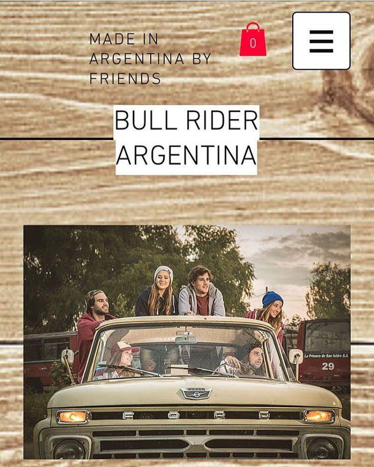 Lista la página de Bull Rider en la versión escritorio y móvil!!! Ya pueden entrar al shop online y a conocer un poco más sobre nosotros en www.bullriderargentina.com