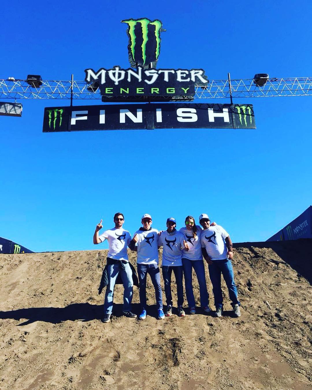 Bancando a Trossero y a su team en el mundial de motocross. Vamos que el #112 está de suerte!  #mxgpargentina #mxgp #motocross #monster #race