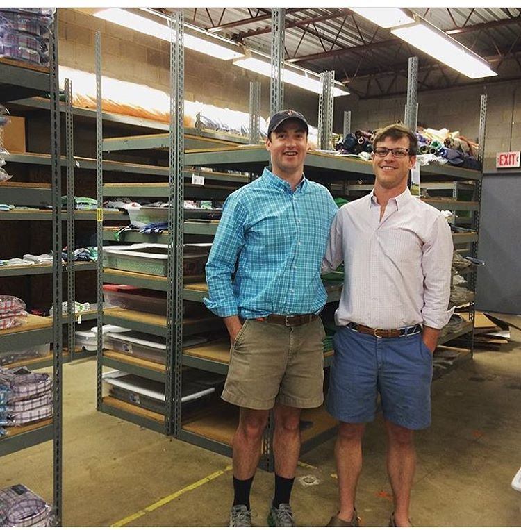 Awesome day visiting @1percentftp member @collaredgreensbrand at their warehouse in Richmond, VA!