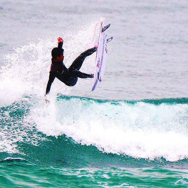 @ryunosuke5831  Rotation |  5.0 leopard  #joistiksurfboard #zeroonewetsuits  @joistiksurfboards  @3dfins_usa @3dfins_br : @furuta_masanori