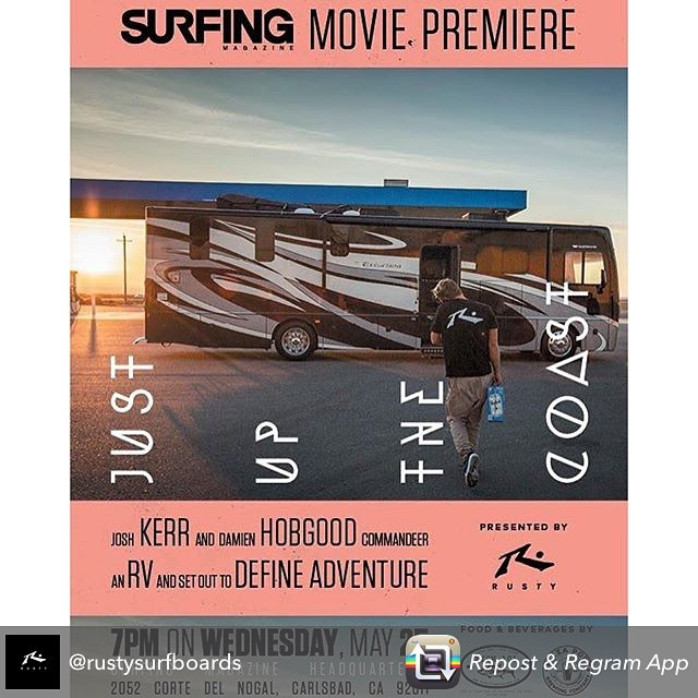 Repost from @rustysurfboards Come on out tomorrow night! It's gonna be sick! #3dfins