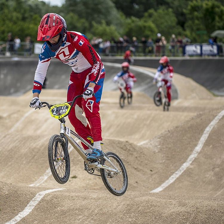 Best vibes to #BMX machine Mathis Ragot who had a serious crash during the French cup this weekend. We heard he's ok and nothing too serious but he's been pretty shaken up. All the best Mathis! #SixSixOne #661Protection Photo Fabmx1.com #ProtectFun