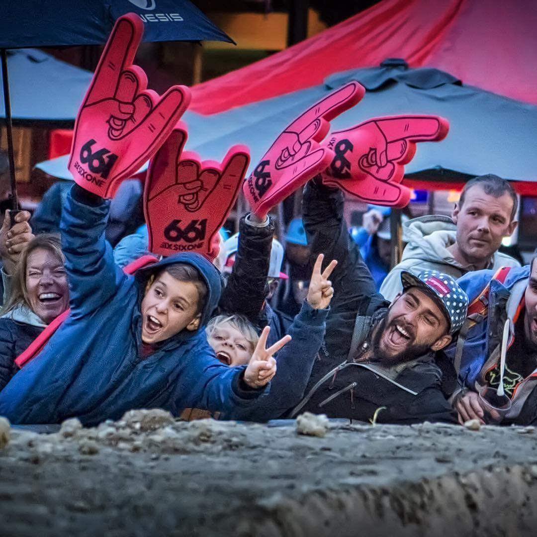 We had a sick week in #LesGets for the #Crankworx Festival, we caught up with our riders, handed out some swag and cheered on the races... Can we have some sun next year tho? #SixSixOne #661Protection  Photo Agence Kros  @remgap05  #ProtectFun