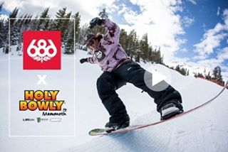 Check this edit from Ryan Tarbell and the @686 crew at Holy Bowly @mammothmountain @ryan_tarbell