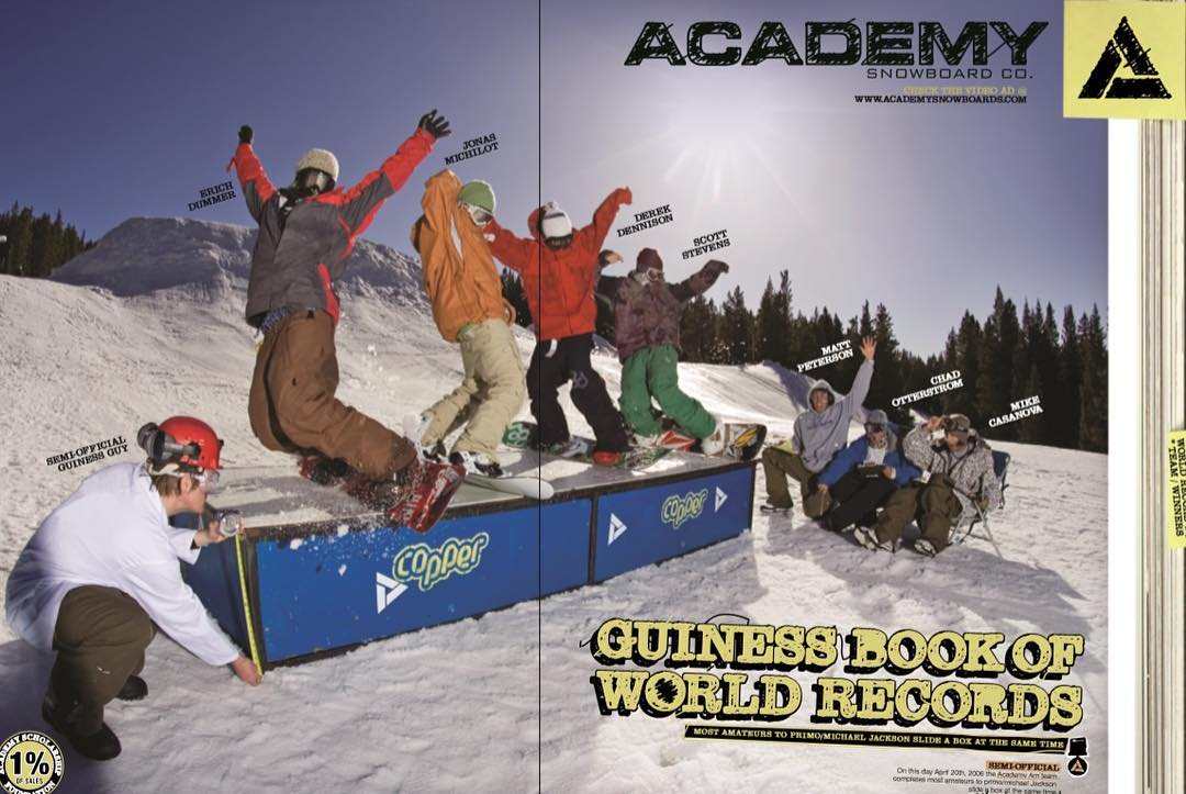 Flashback Friday! Who remembers this 2006 Guinness World Record ad?! @dummertown @jonasmichilot @sleepystevens @dd_801 @casanovawhat @professorpants @chadotterstrom @gunson