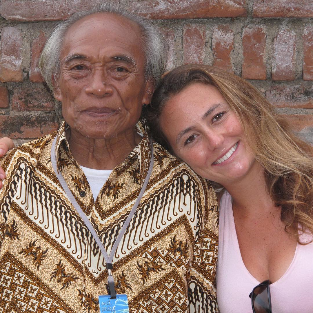 "My childhood painting teacher Ketut Liyer - the famous shaman from Eat Pray Love -has passed away. This post by the book's author @elizabeth_gilbert_writer is a life changer: ""I'm passing this along from Ketut. When you are searching for a path in your..."