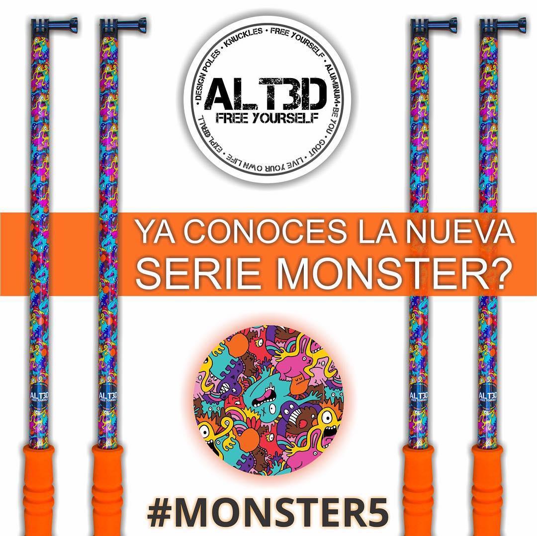 - Ya viste lo esta el nuevo modelo #MONSTER5 ??? Entra a Mercado Libre y tenelo ya en tu casa, EXPLOTA!