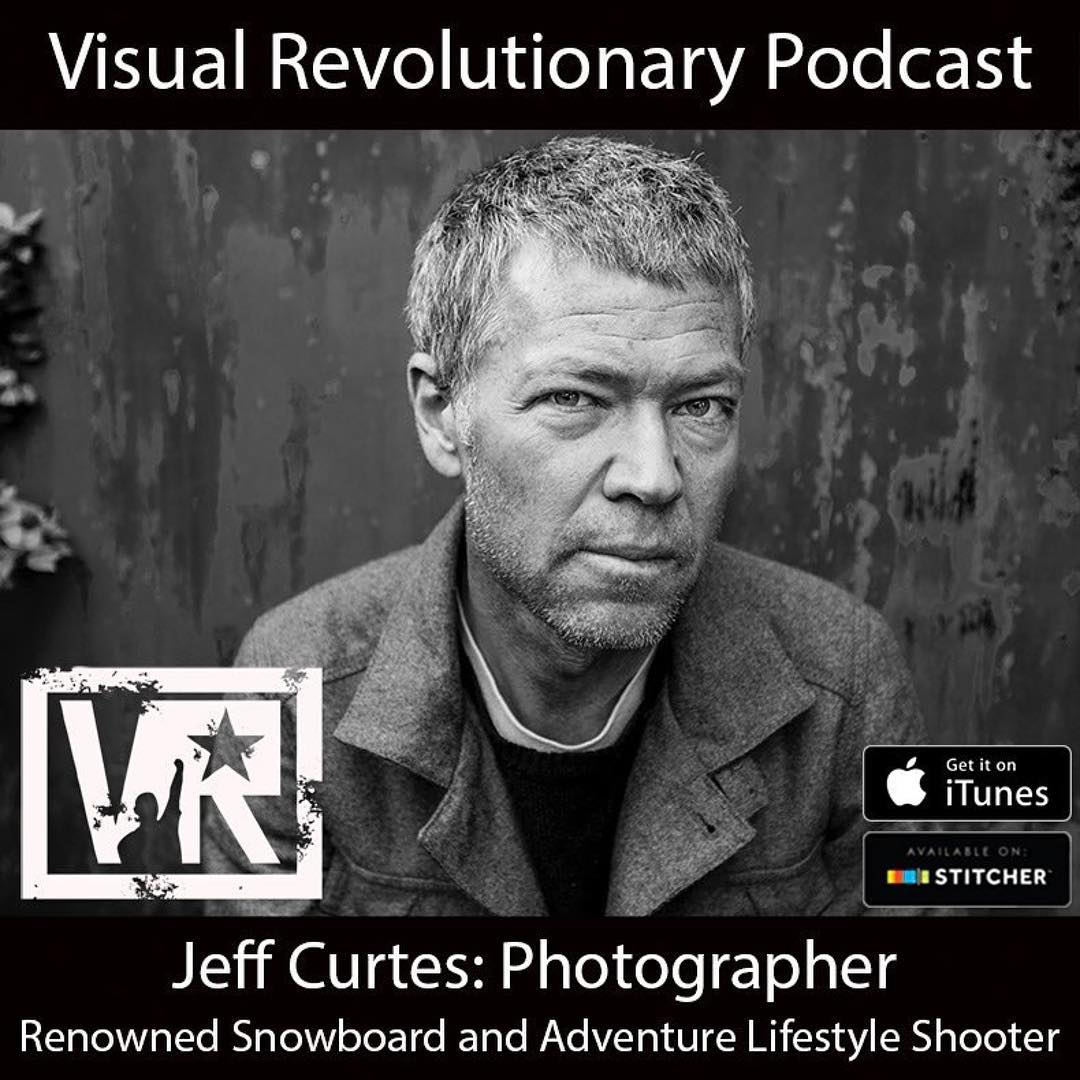 Hop on over to  @visualrevolutionary! They are fix'n to have a chat with one of our favorite photographers @jeffcurtes. More info from them below