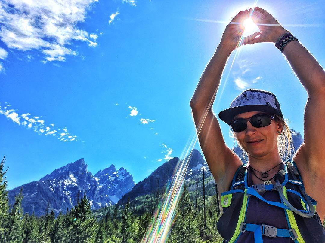 #A7Artist @kyehalpin found some stoke in Grand Teton Nat'l Park today for the solstice! Hope you guys all getting out and finding your own #momentsofstoke on this epic day! #avalon7 #liveactivated #trailrunning