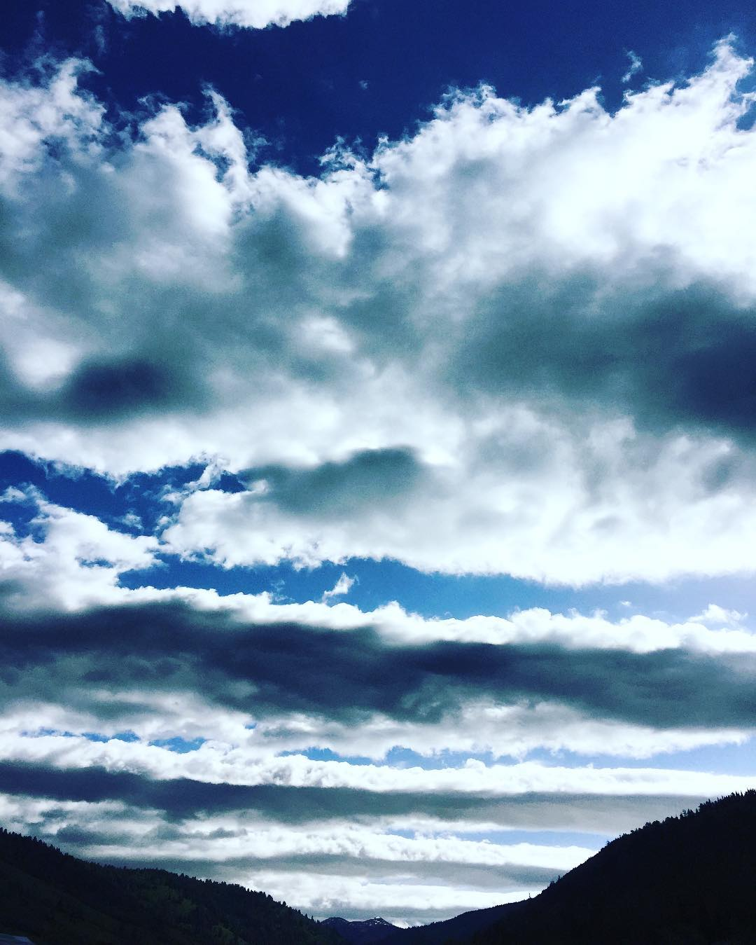 The clouds roll through like waves today in Jackson Hole, lines of vapor and dust, reminding me of the ever present cycles of life. #avalon7 #reconnect #nature www.avalon7.co