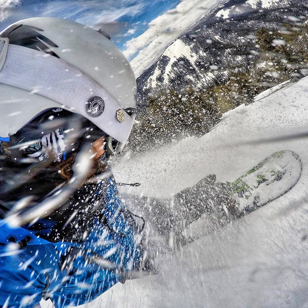 Dreaming of pow slashes. #avalon7 #liveactivated #snowboarding #gopro  www.avalon7.co
