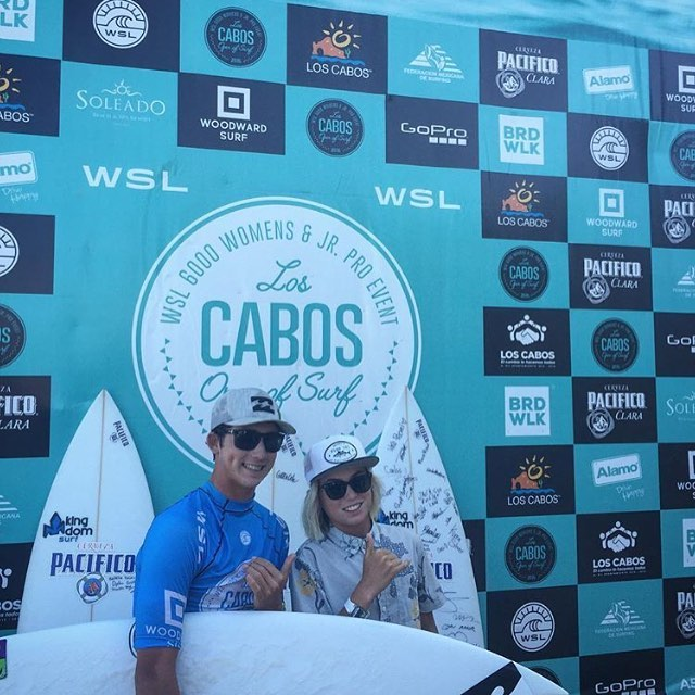 @griffin_cola crushing it down in Cabo and taking out the @loscabosopenofsurf Pro Junior win! #BillabongBloodlines