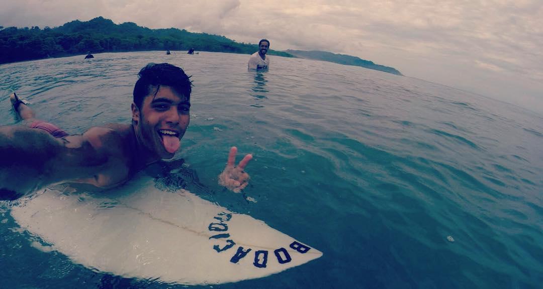 Nuestro Rider @juanignacio_chaar entrenando en Costa Rica!