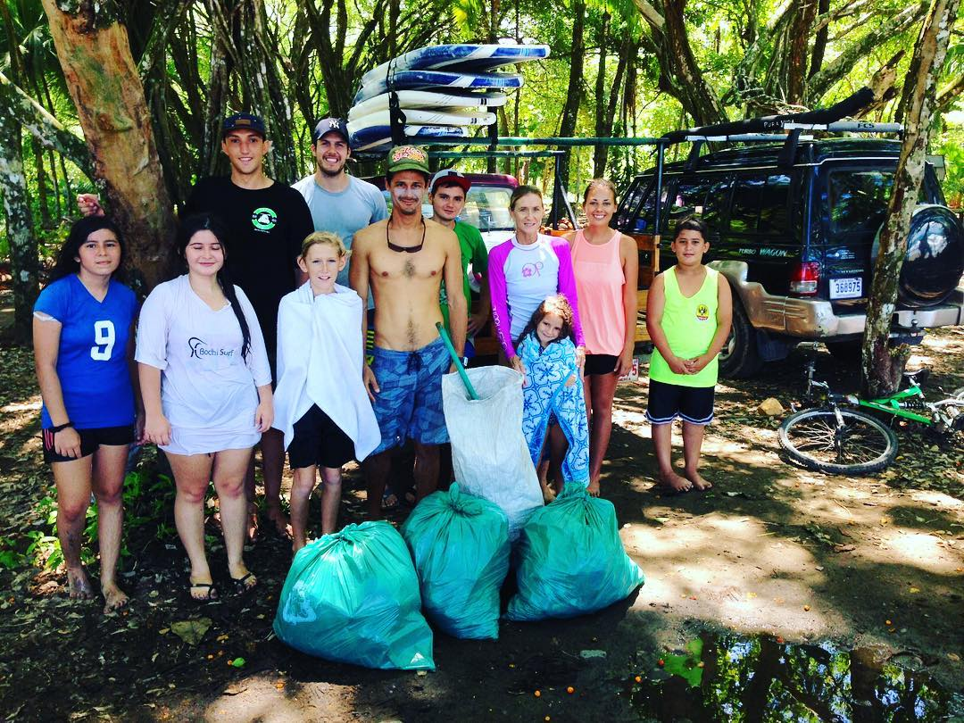 Another successful Service and Surf Saturday, with around 15 participants. Thanks to everyone who came out and worked hard to keep our beach and home clean! #SurfSaturday #ServiceSaturday