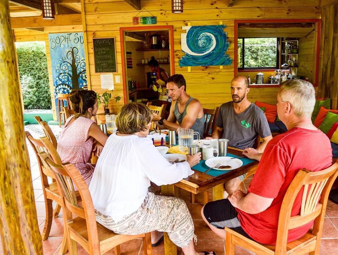 What can you expect to eat at a week-long Bodhi Surf camp? We use fresh, local, and as much as possible organic ingredients for our meals. We also have a lot of laughs and good conversations over meals. To learn more about the food experience, read the...