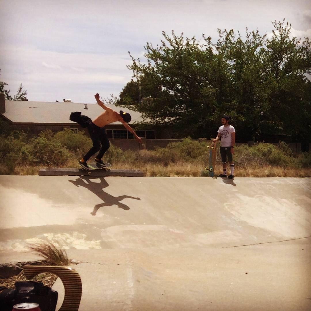 Team rider Sean Stratmeyer--@kurkylurk666 slapping the ditch curb!