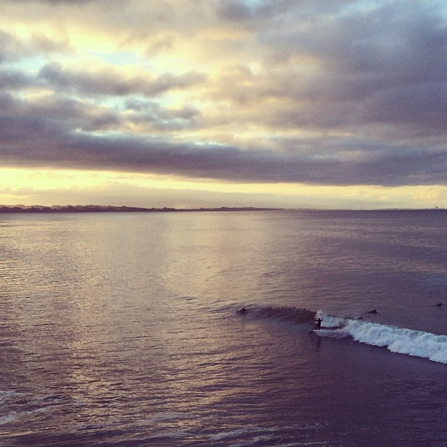 this morning, off the hook  #awesome #awesomesurfboards #teamawesome #santacruz #surf #morningglory