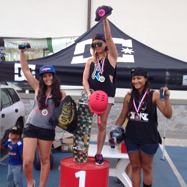 @g_mdz takes 1st at an international competition in Panama on her #Kanthaka!